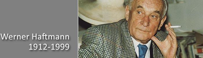 Werner Haftmann (1912-1999)